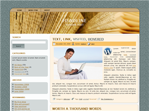 New Read WP Theme
