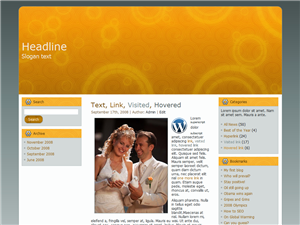 Newly Weds WP Theme