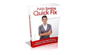 Public Speaking Quick Fix