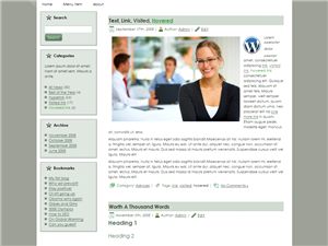 Office Friend WP Theme