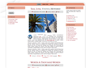 Pink Haven WP Theme