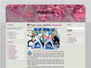 Pink Health WP Theme