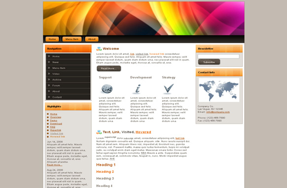 Prism HTML Template Edition 2