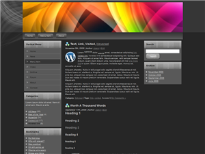 Prism WP Theme Edition 1