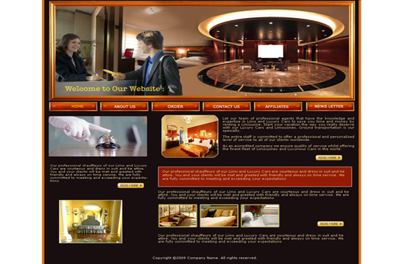 Professional Agents HTML Template