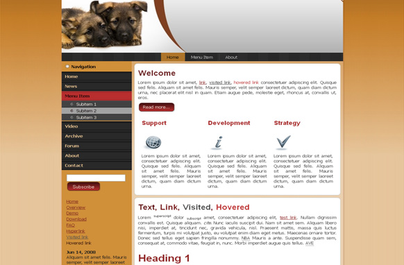Puppies WP Theme Edition 1
