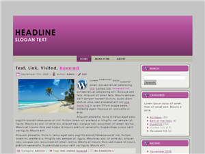 Purple Laws WP Theme