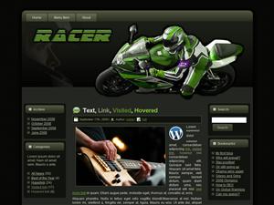 Racer WP Theme