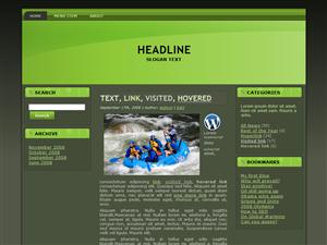 Rafting WP Theme