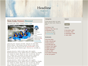 Rapid Recover WP Theme