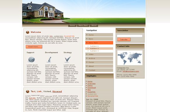 Real Estate HTML Template Edition 1