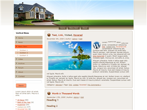 Real Estate WP Theme Edition 1
