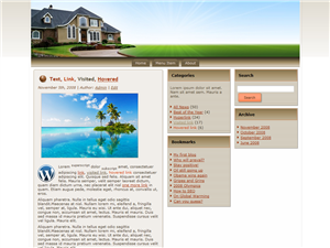 Real Estate WP Theme Edition 2