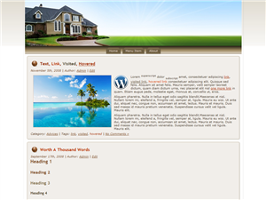 Real Estate WP Theme Edition 4