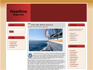 Red Boat WP Theme