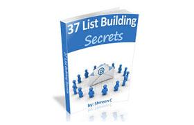 37 List Building Secrets