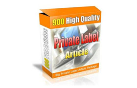 900 High Quality Private Label Articles