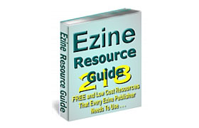Ezine Resource Guide