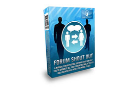 Forum Shout Out