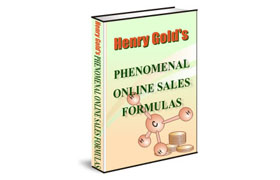 Henry Gold Phenomenal Online Sales Formulas