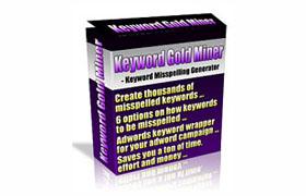Keyword Gold Miner