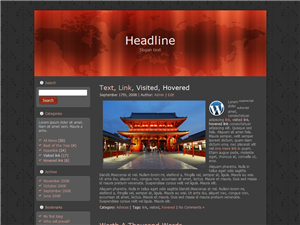 Red Dome WP Theme