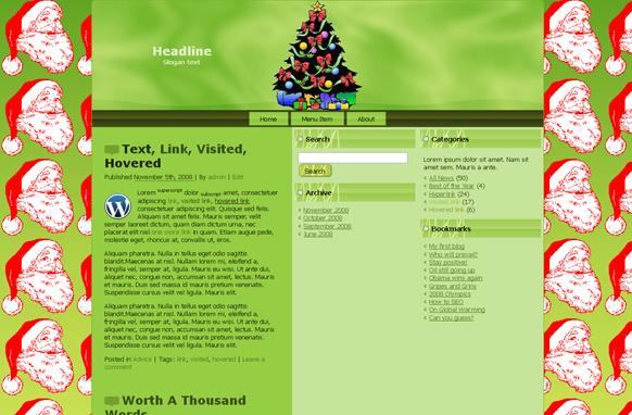 Season Greeting HTML Template Edition 2