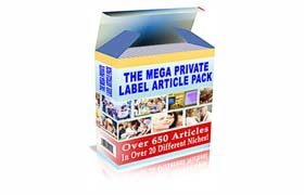 The Mega Private Label Article Pack