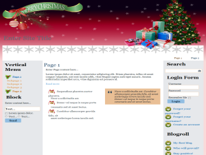 Seasonal Christmas WP Theme Edition 3