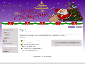 Seasonal Christmas WP Theme Edition 4