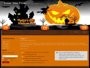 Seasonal Halloween WP Theme Edition 2