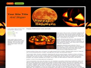 Seasonal Halloween WP Theme Edition 4