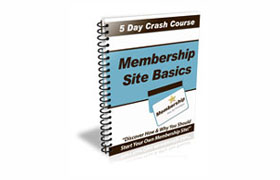 Membership Site Bascis