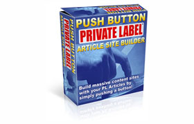 Push Button Private Label