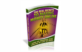 The Real Secrets To Making Money Online
