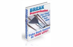 Break Procrastination