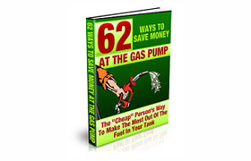 62 Ways Save Money At The Gas Pump