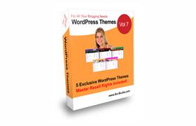 5 Exclusive Wordpress Themes Volume 7