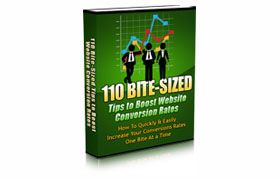110 Bite Sized Tips To Boost Website Conversion Rates