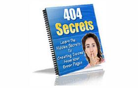404 Secret Error Pages