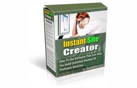 Instant Site Creator