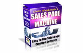 Sales Page Machine