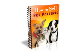 How To Sell Pet Products