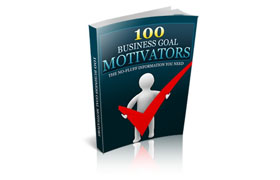 100 Business Goal Motivators