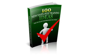 100 New Employee Training Ideas