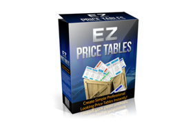 EZ Price Tables Plugin