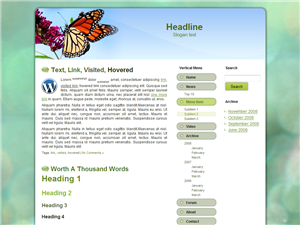 Butterfly WP Theme Edition 2