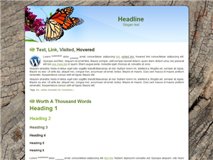 Butterfly WP Theme Edition 3
