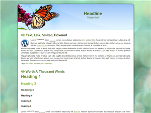 Butterfly WP Theme Edition 4