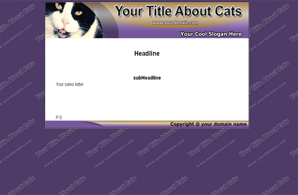 Cats HTML & PSD Template Edition 2